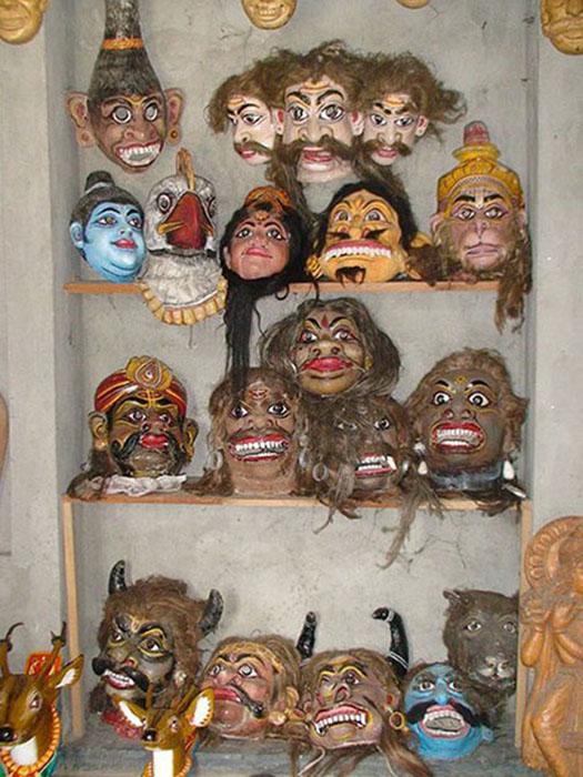 01 Masks from Majuli