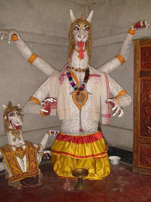 03 Masks from Majuli