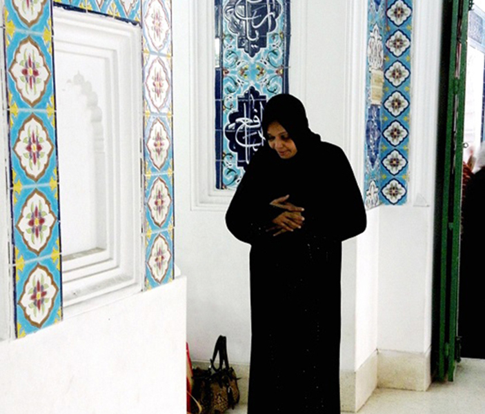 7 At Prayer