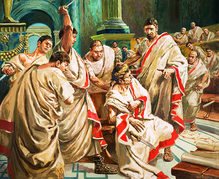 The Death of Julius Caesar - Cecil Doughty