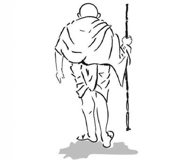 Gandhi Sketch