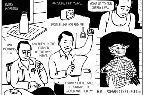 A tribute to RK Laxman